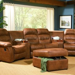 Theater Chair Accessories Nautical Bedroom Rust Specially Treated Microfiber Home Seats W