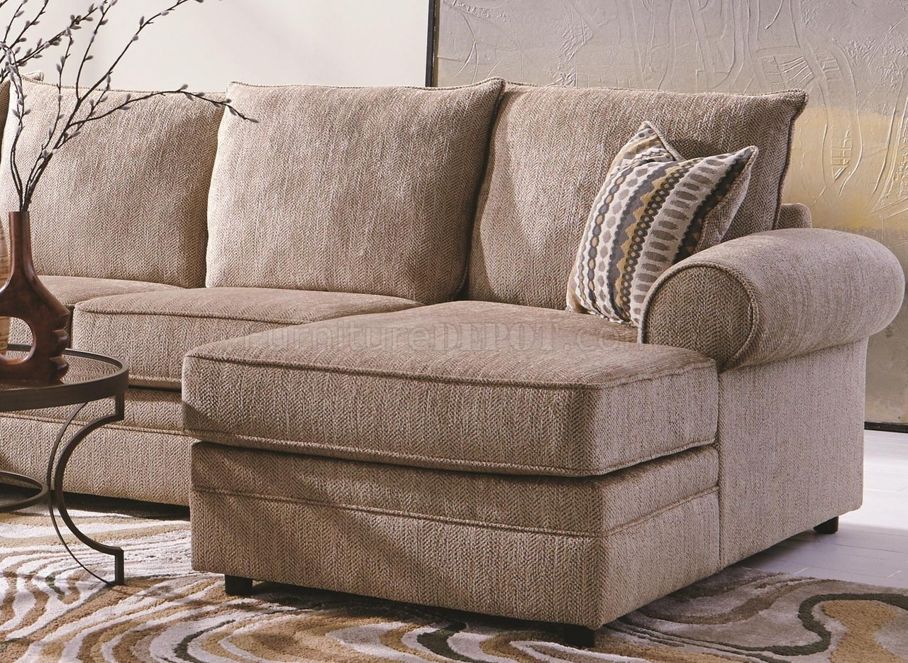 cream sectional sofa fabric fainting fairhaven 501149 in by coaster