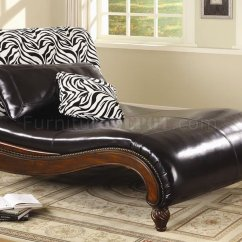 Bedroom Lazy Chair Executive Leather Office Chairs Melbourne Dark Brown Bycast Stylish Chaise Lounge W/zebra Back