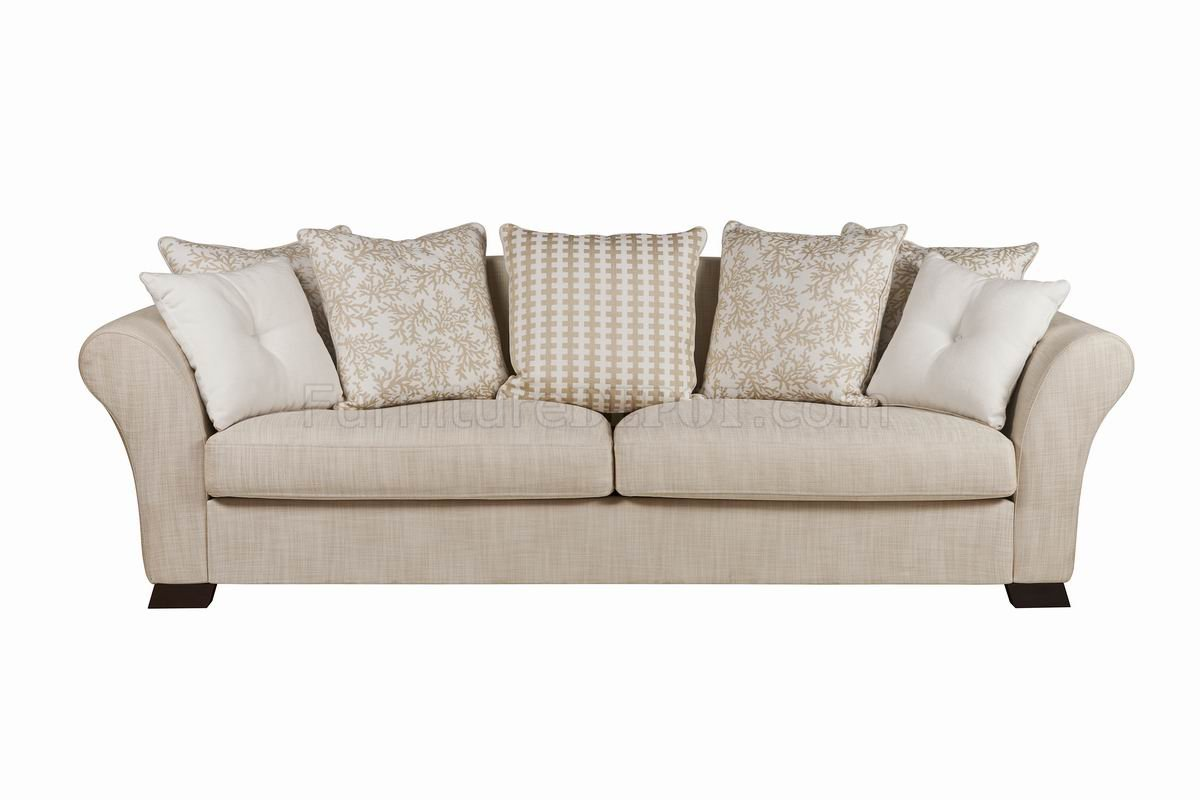 beige sofa set cat sofas uk fabric modern and loveseat w optional items
