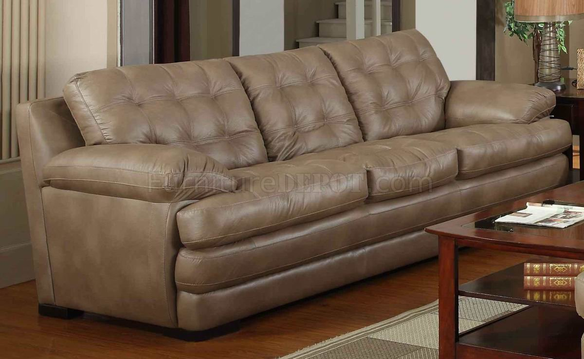 modern bonded leather sectional sofa with recliners recovering dark beige & loveseat set w/options