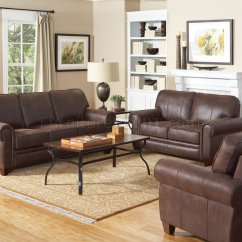 Bentley Leather Sofa Reviews Mahogany Cane Back In Brown Microfiber 504201 By Coaster W Options