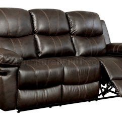 Brown Leather Sofa Recliner White Corner Dfs Listowel Reclining Cm6992 In Match W