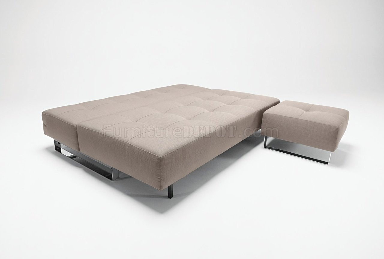 sofa bed lounger top rated leather reclining sofas sand olive or grey fabric modern