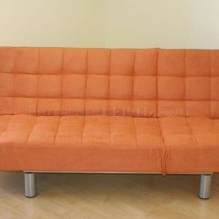 Brown Microfiber Sofa Bed Kitchen Table Pumpkin Camel Beige Or Chocolate Modern