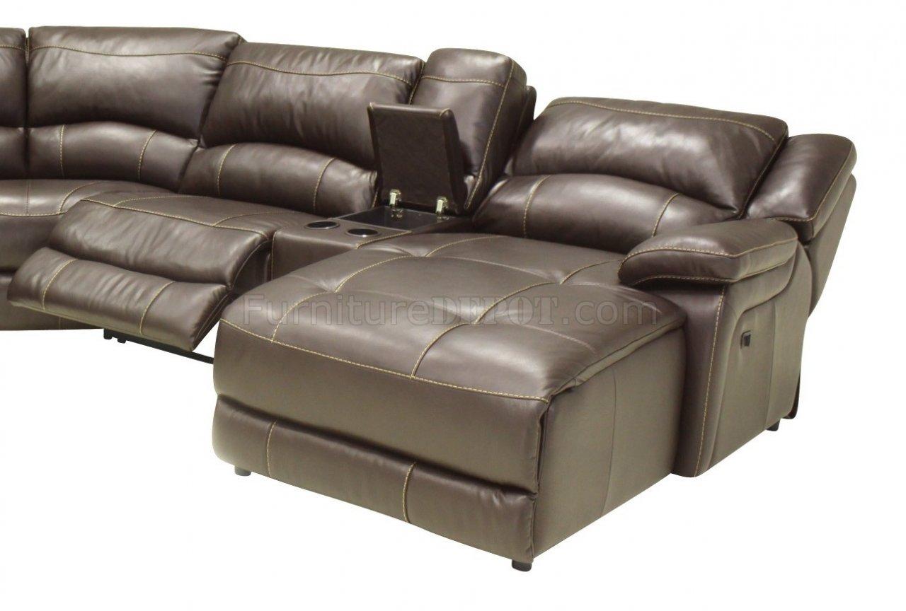 contemporary reclining sofa leather durham wayfair mahogany full 6pc sectional