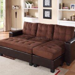 Dark Brown Microfiber Sofa Sectional Sofas Ikea 2500 Set In Bi Cast And