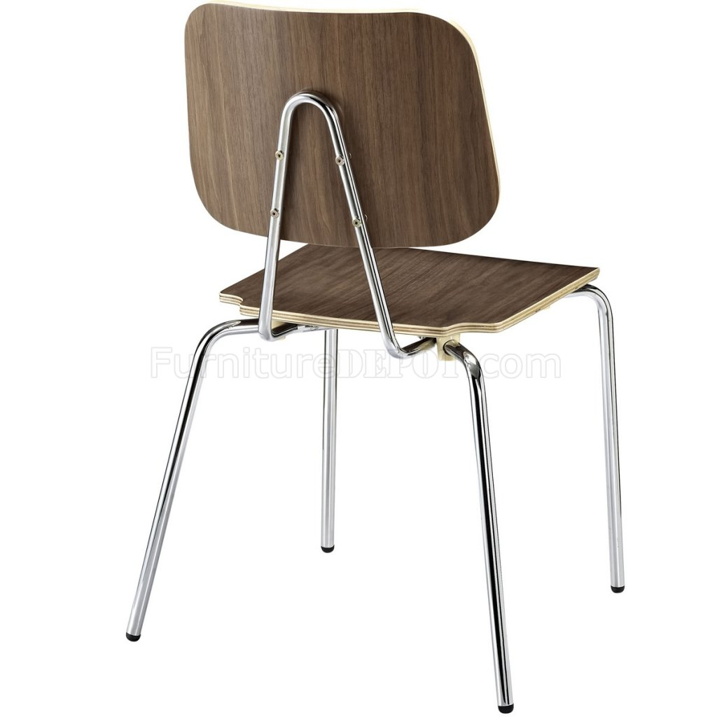 madeleine side chair review bouncy ball for work motive dining set of 4 in walnut or natural by modway