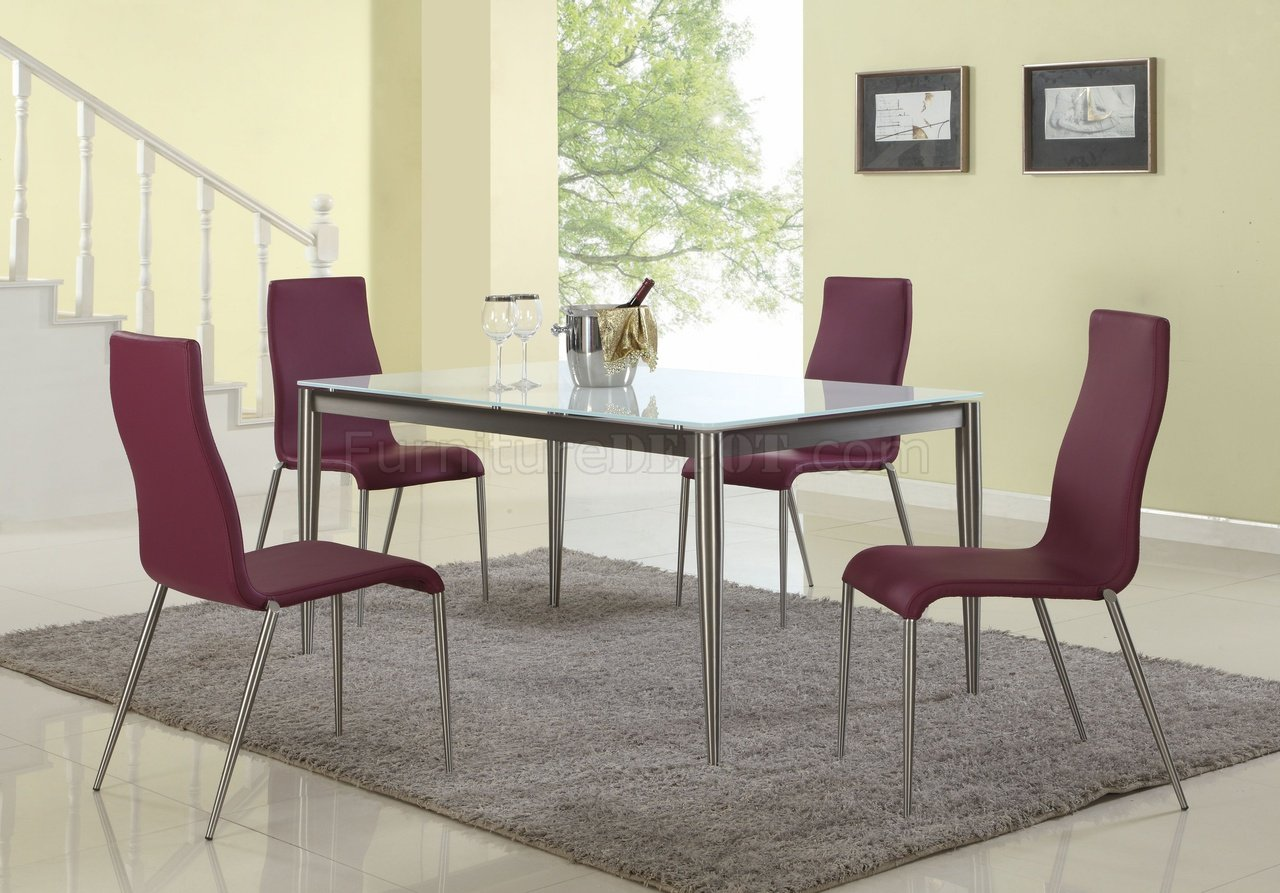 remy side chair review medical office chairs dining table 5pc set by chintaly w white starphire glass