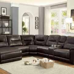 Transitional Style Sectional Sofas Kartell Bubble Club Sofa Columbus Motion 8490-6lcrr By Homelegance