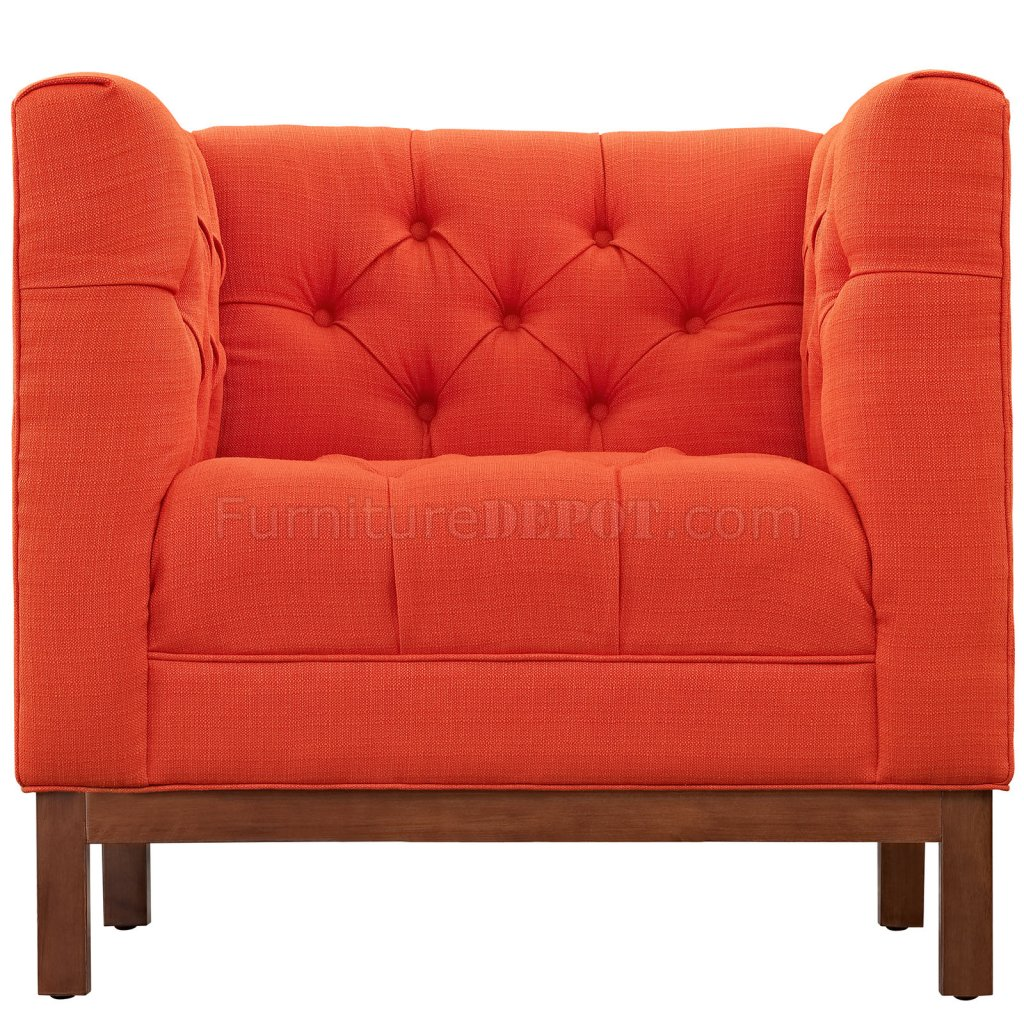 panache sofa set sunbrella outdoor eei 1802 in atomic red fabric by modway w options