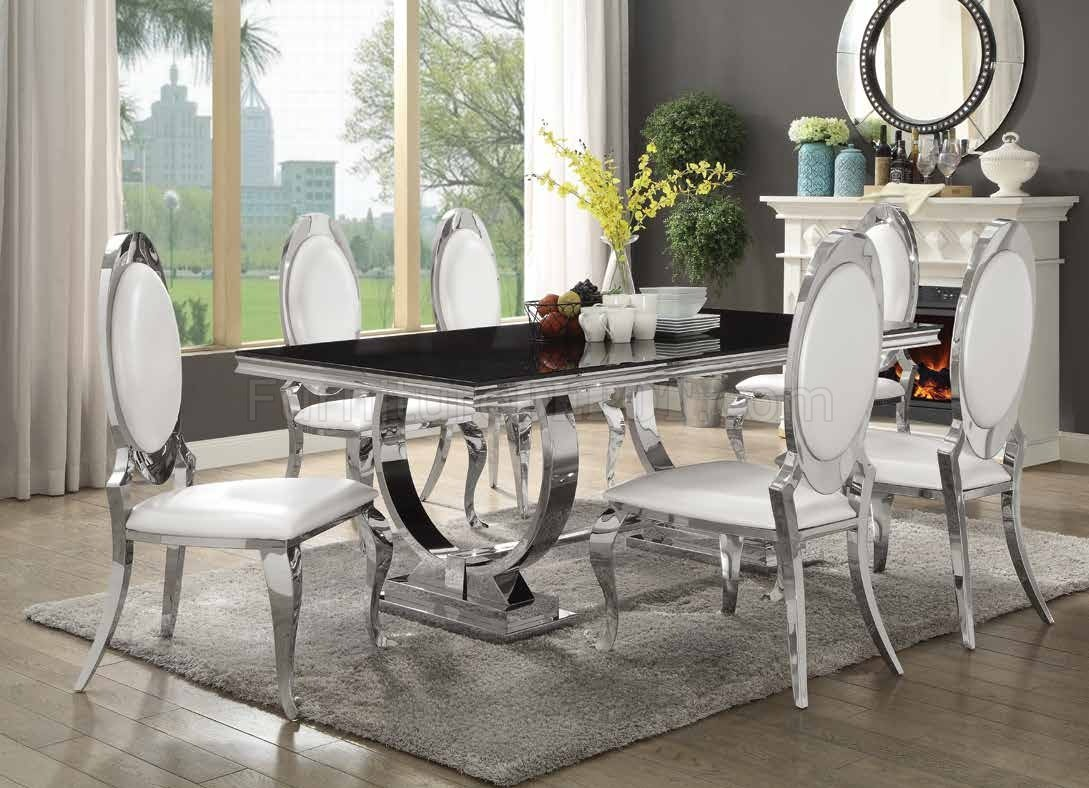sectional sofa for small e yellow leather sale antoine dining table 107871 coaster w/chrome base & options