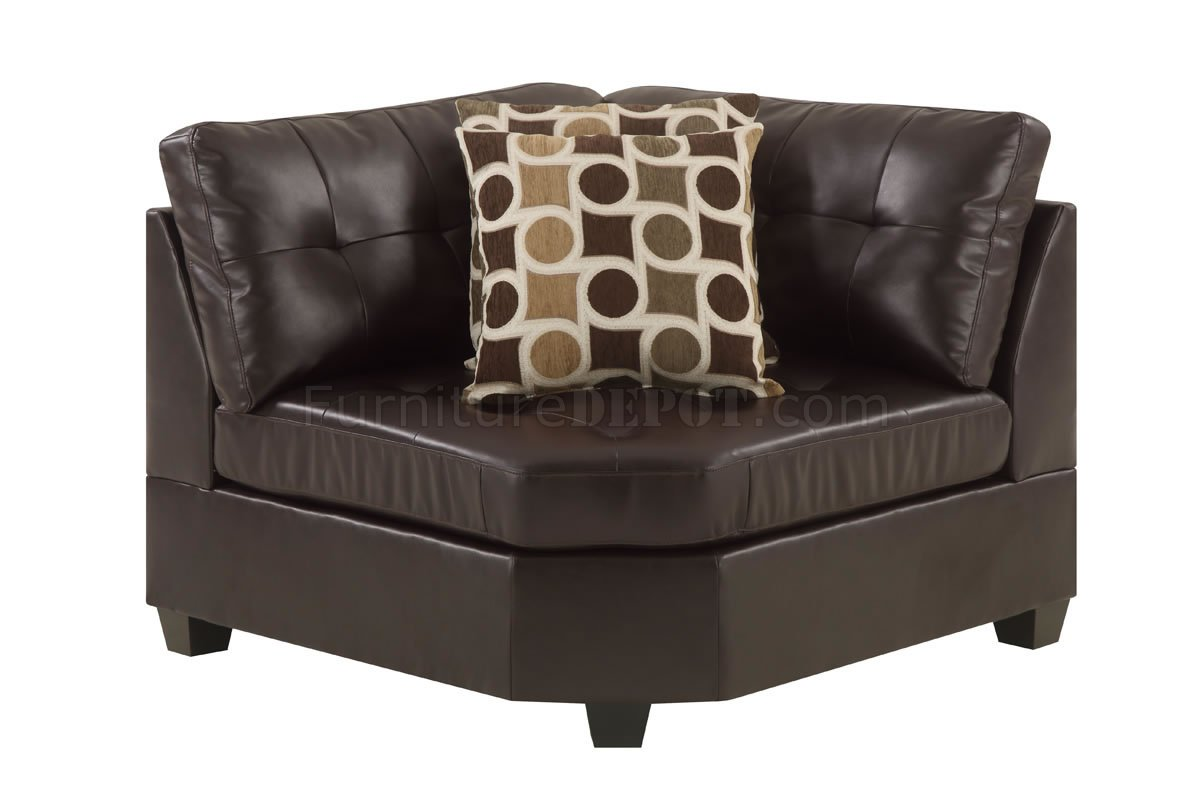 espresso bonded leather reclining sofa loveseat set coronado beach f7242 sectional by poundex in