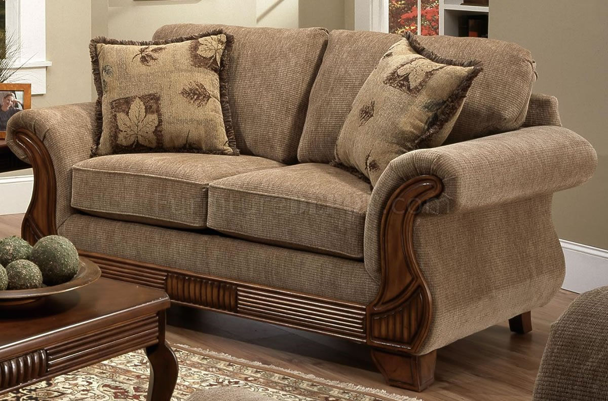 tan fabric sofa leona leather traditional and loveseat set w optional items
