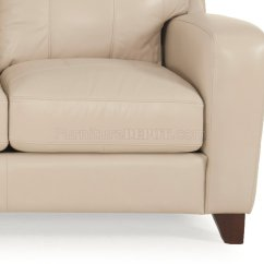 Rialto Sofa Bed Cherry Table With Glass Top 8332 And Loveseat In Taupe By Leather Italia W