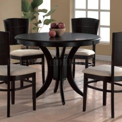 Office Depot Chair Sale West Elm Ryder Rocking Espresso Finish Modern Round Dining Table W/optional Chairs
