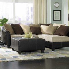 Living Room Color Schemes Black Leather Couch 2 Simple But Elegant 9917 Carrington Sectional Sofa In Beige Microfiber By ...
