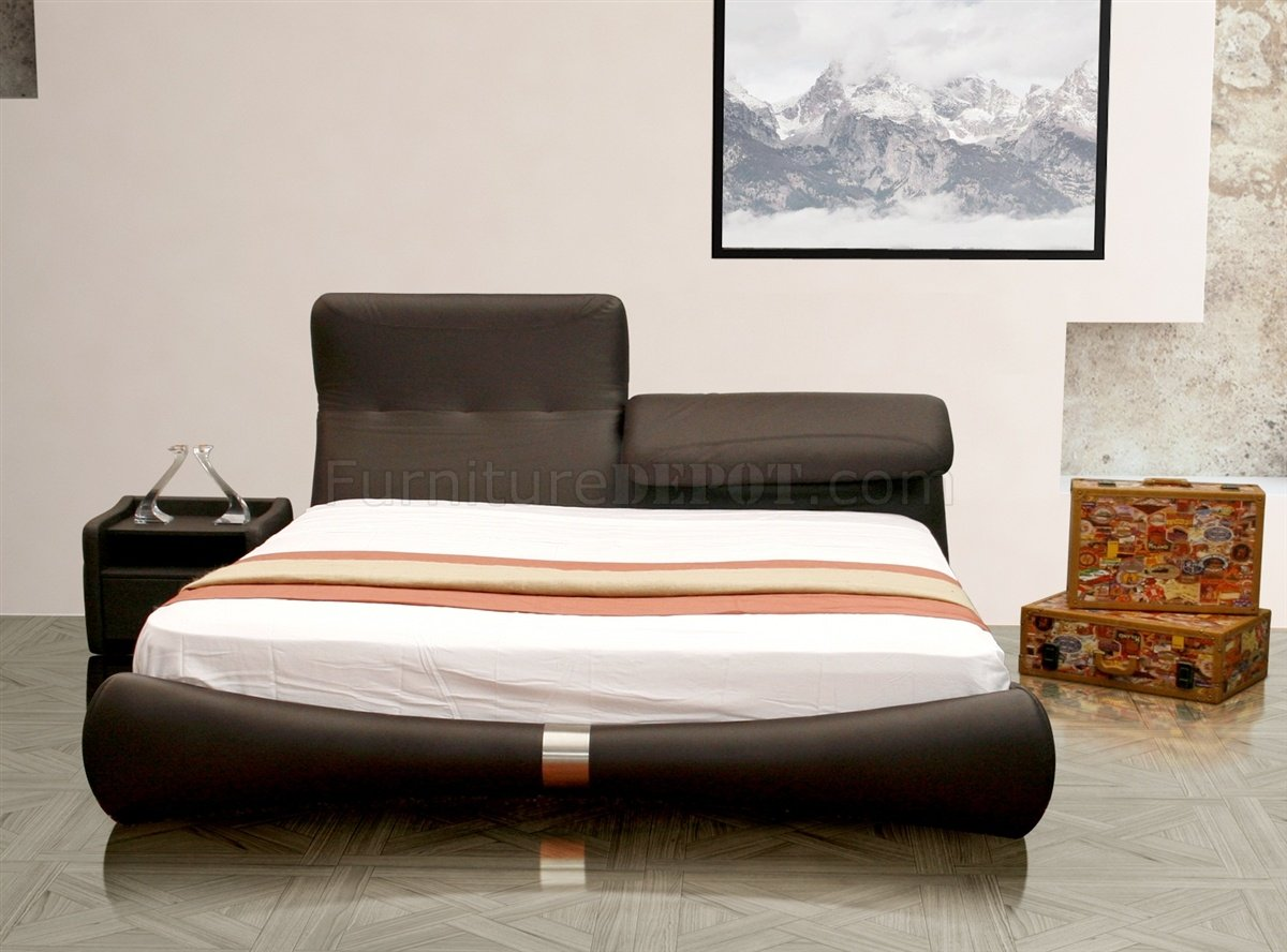 bianca futon sofa bed review large corner sofas on finance luxe in brown half leather by casabianca