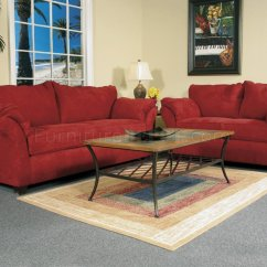 Overstock Sofa Covers Repair Leather Cushion Red Fabric Modern Loveseat And Set W Options