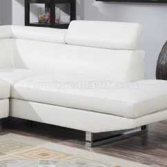 Bar Chairs With Arms And Backs Aluminium For Sale 4013 Sectional Sofa In White Bonded Leather