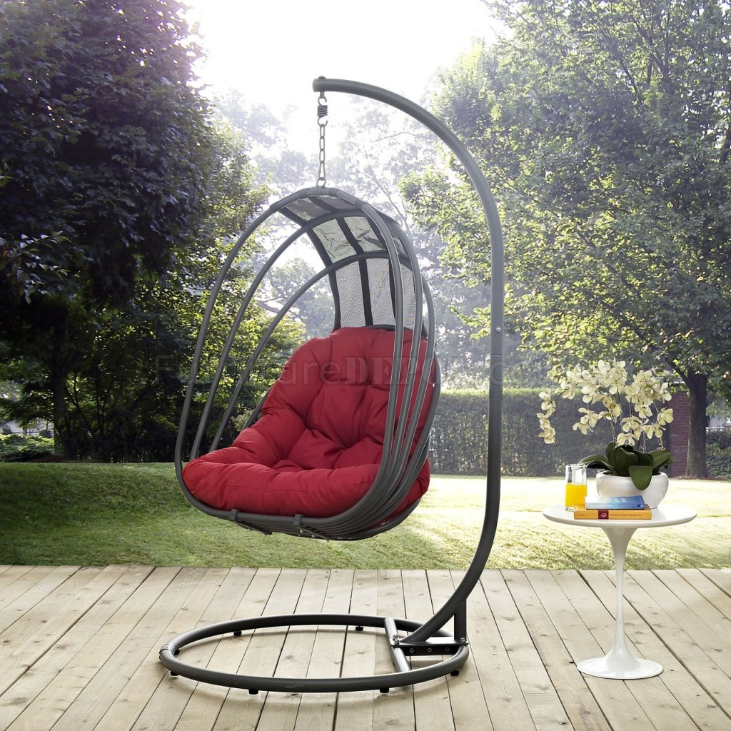 Whisk Outdoor Patio Swing Chair by Modway Choice of Color