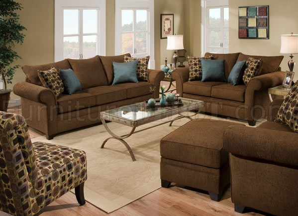 brown fabric sofa kivik cushion covers sable loveseat set w accent throw pillows