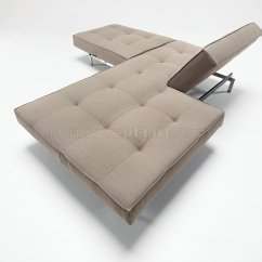 Grey Modern Sofa Bed Patio Furniture Covers Or Dark Fabric Convertible