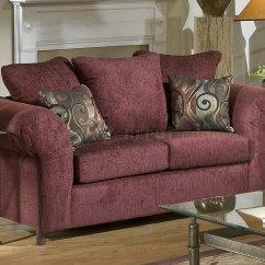 Burgundy Leather Sofa And Loveseat Tantra Di Malaysia Fabric Clic