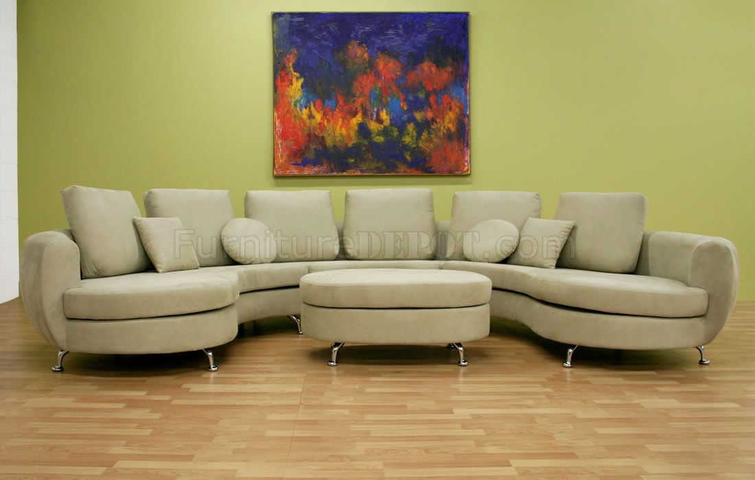 Round Set Sofa Shape
