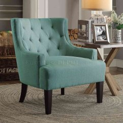 Teal Club Chair Pier One Outdoor Chairs Dulce Accent 1233tl In Fabric By Homelegance