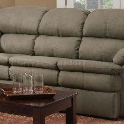 Ashley Furniture Darcy Sofa Sleeper Lazy Boy Cover Sage Microfiber Modern Casual ...