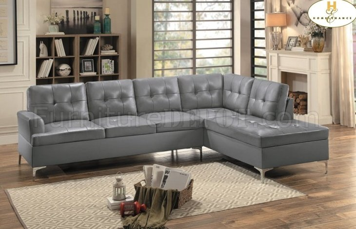 baby sofa seater marshmallow flip open recall barrington sectional 8378 in gray pu by homelegance