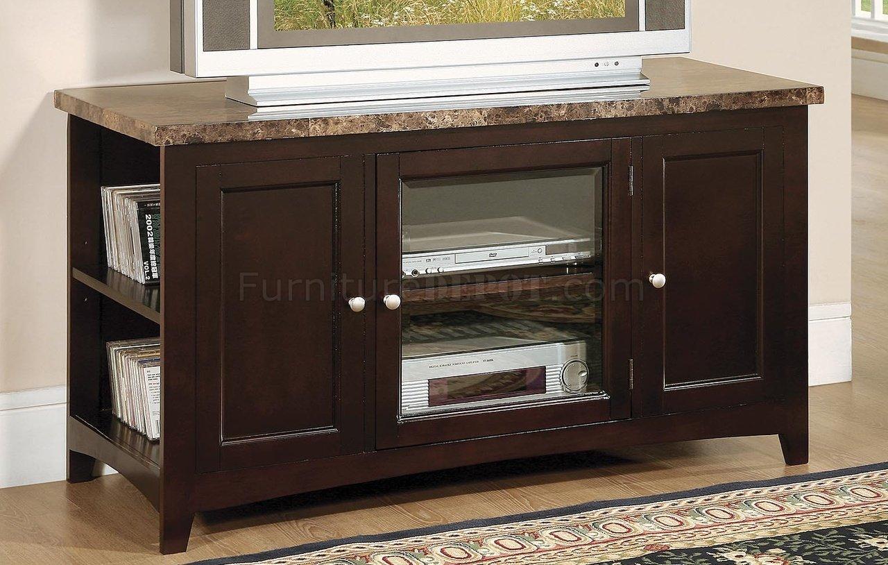 tv lounge sofa set camas place panama deep mocha finish contemporary stand w/marble top