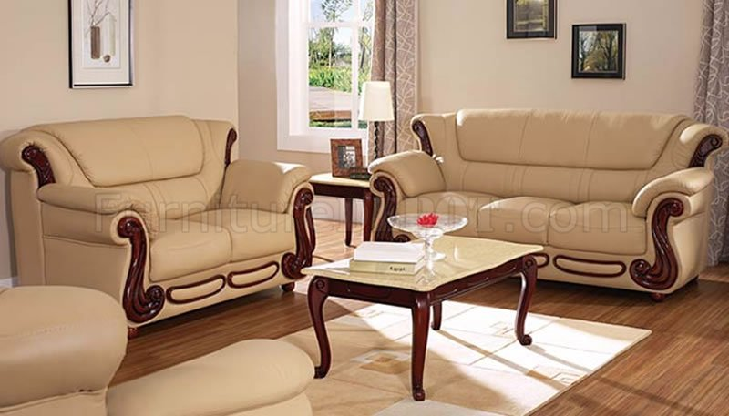 color sofas living room small wall ideas beige leather sofa loveseat elegant set