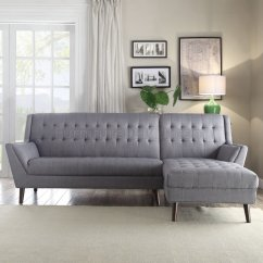 Light Gray Fabric Sectional Sofa Midtjylland Copenhagen Sofascore Watonga 53850 In Linen By
