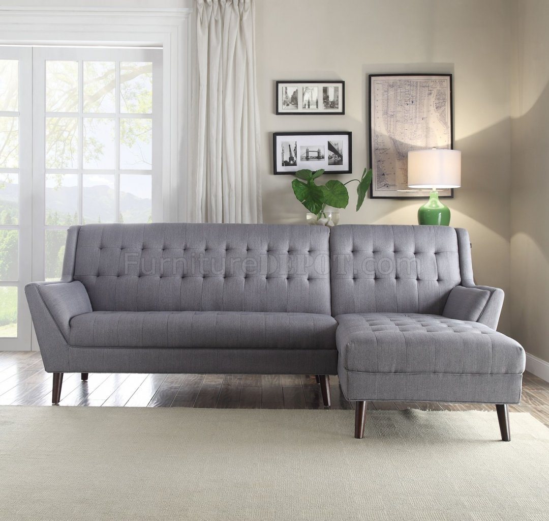 light gray sectional sofa washable slipcovers watonga 53850 in linen fabric by