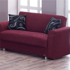 Burgundy Sofa And Loveseat Hampton Bay Spring Haven Brown All Weather Wicker Patio Ohio Bed In Fabric By Empire W Optional