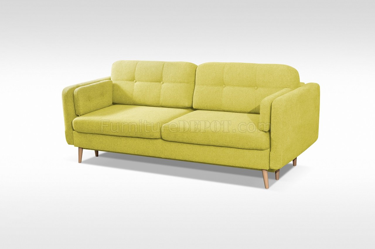 bright green sofa bed klaussner options sectional manhattan in lime fabric by skyler design