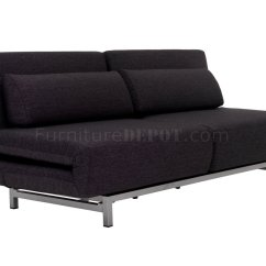 Black Fabric Sofa Chair Sofas Chaise Lk06 2 Bed In By J Andm Furniture