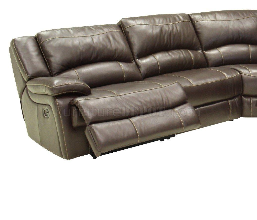 contemporary reclining sofa leather slipcover ikea mahogany full 6pc sectional