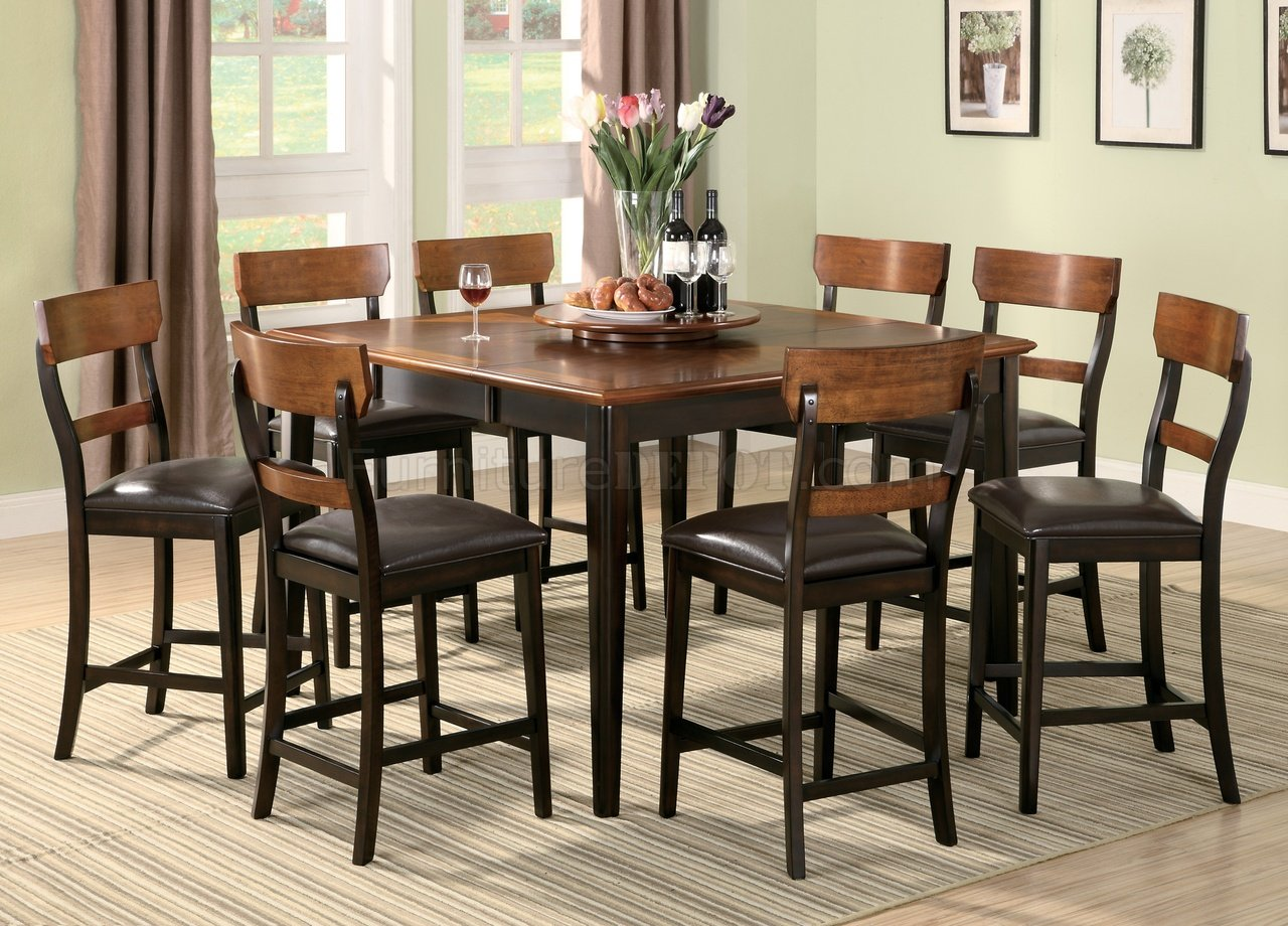 102198 Franklin Counter Height Dining Table By Coaster WOptions