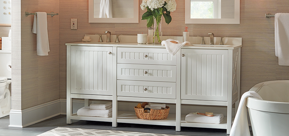 Tiled Bathroom Vanity Ideas
