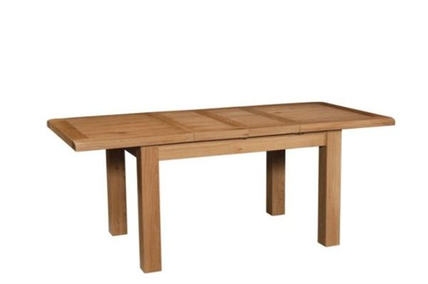 Old Mill Oak Large Extending Dining Table Quality Oak Furniture From The Furniture Directory