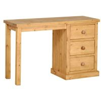 Country Pine Small Dressing Table. Quality Oak furniture ...