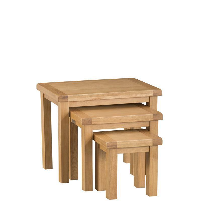 belmont oak nest 3 tables