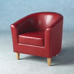 Leather Tub Chair Covers Cotton Berganza Faux