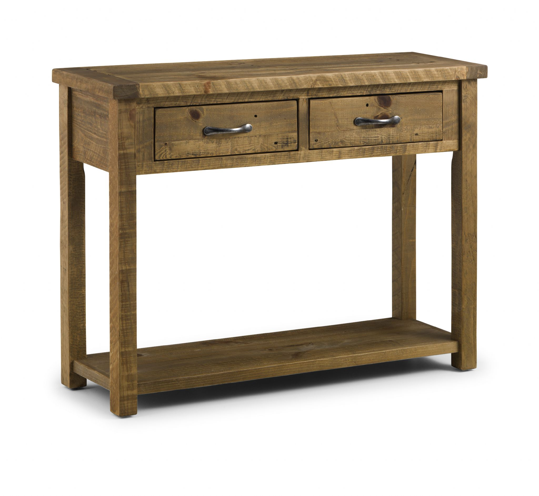 pine sofa tables metal and stone table cordoba solid console with 2 drawers jb37