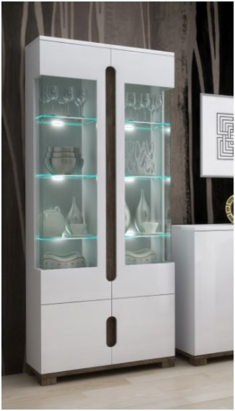 WOW Display Cabinets with Glass Doors by FurnitureFactorcouk