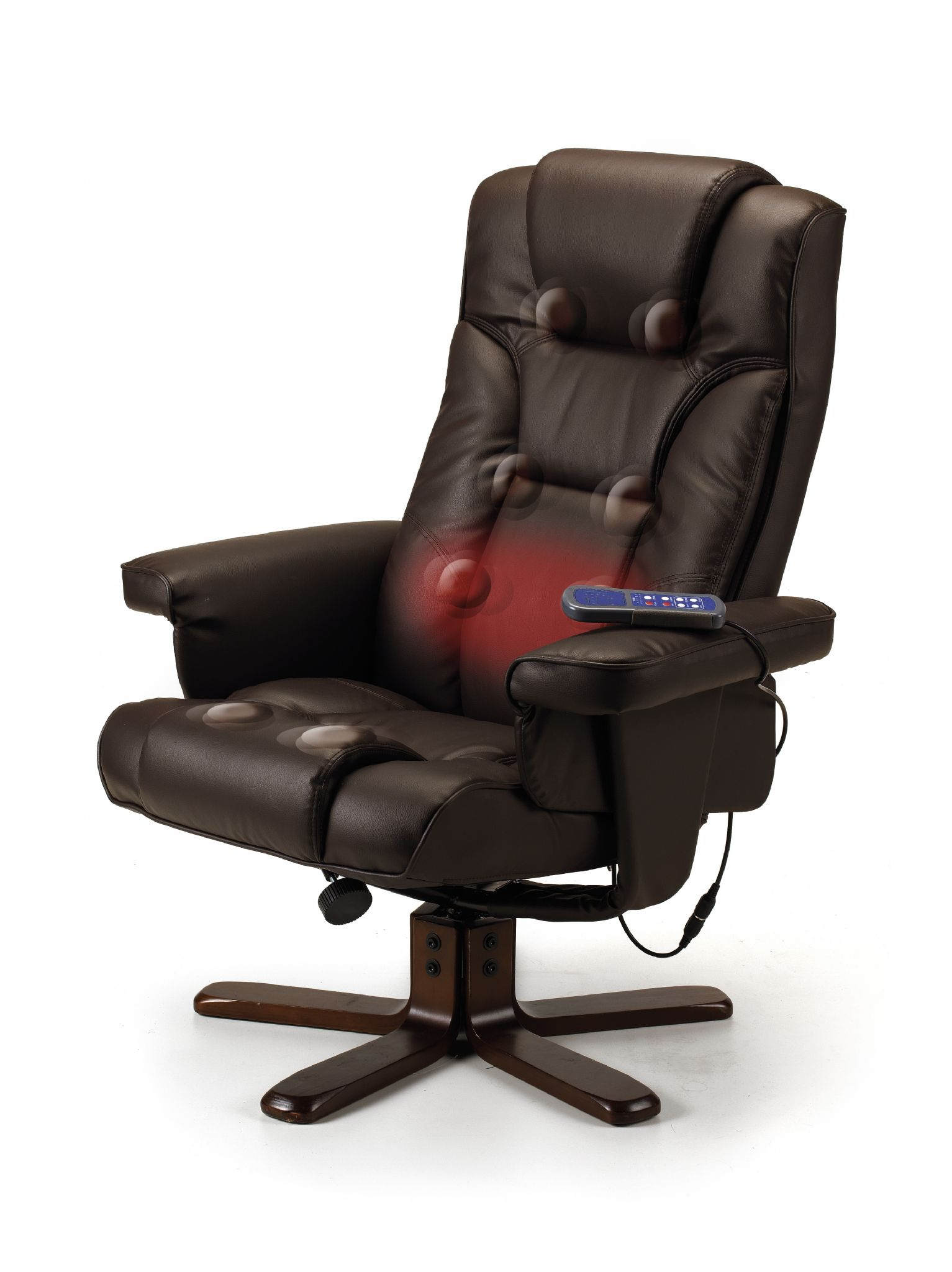 office chair johor coleman deck with table uk roncesvalles brown massage recliner and stool jb297