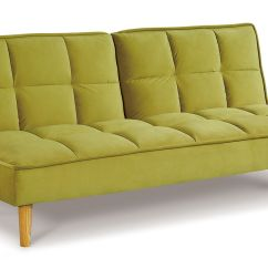Sofa Bed Green Velvet Tara Terracina 3 Position 218vd605